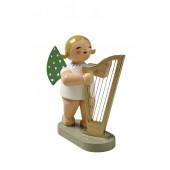 Engel mit Harfe, groß blond